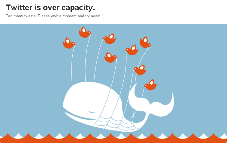 Twitter is over capacity AGAIN?