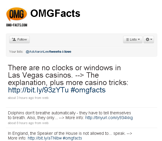 11 Alternative OMGFacts Accounts on Twitter