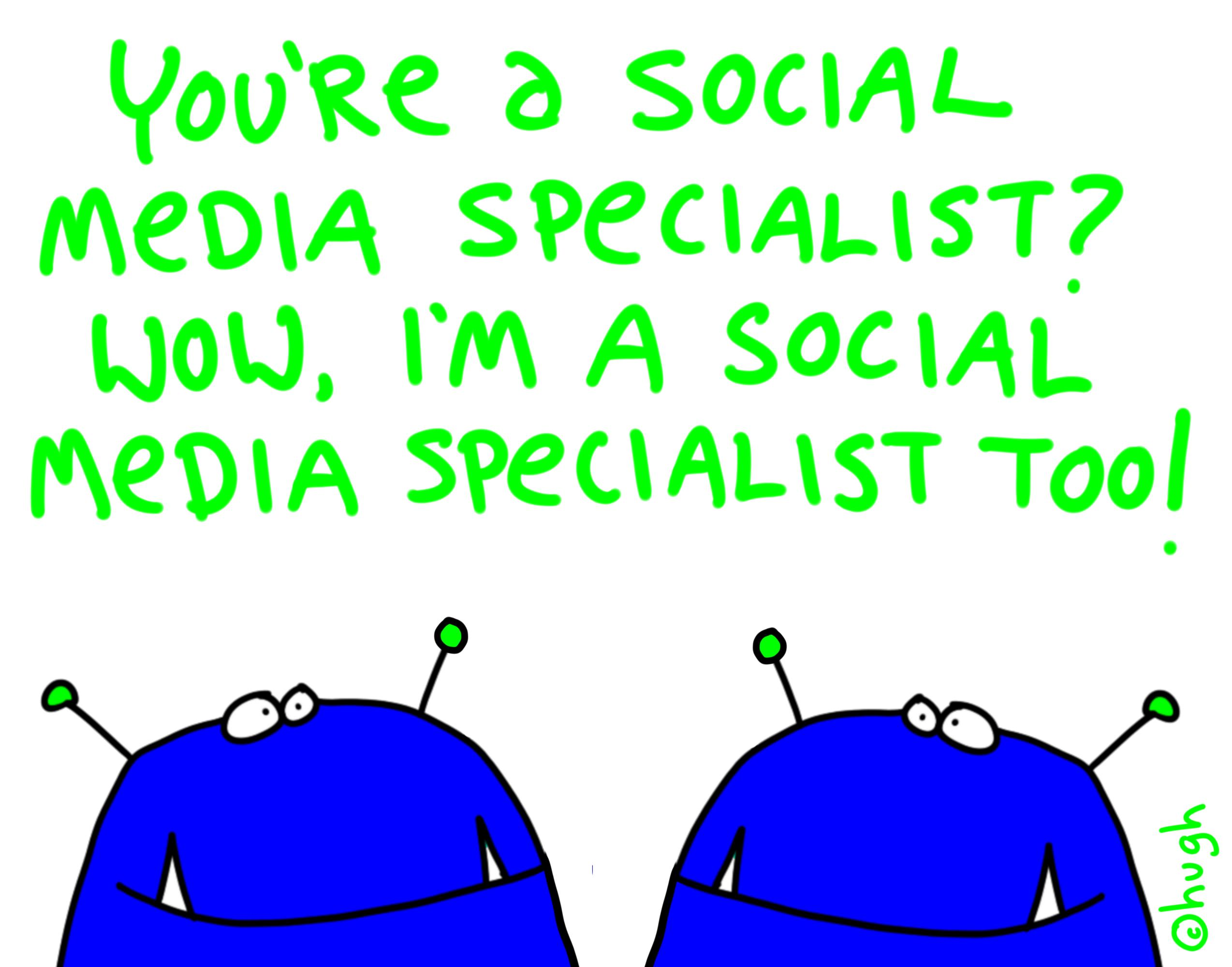 A day in a life of a social media expert