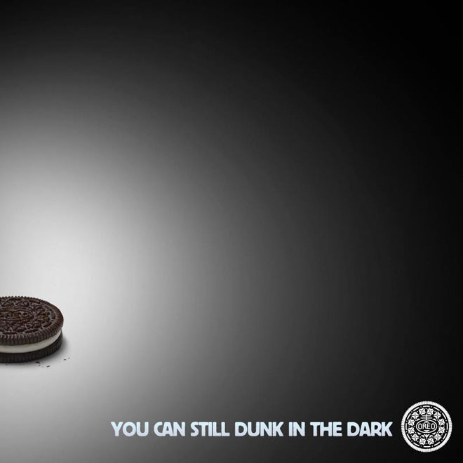 Oreo Dunk in the dark Superbow