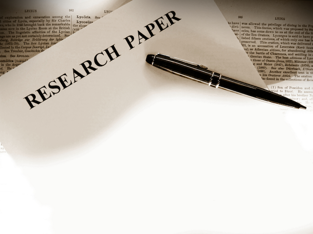 Writing research papers for money